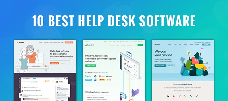 Best SaaS Help Desk Software in 2021