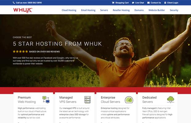 WHUK WebHosting UK Review